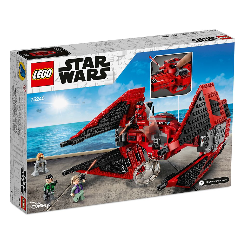 Major Vonreg's TIE Fighter Play Set by LEGO – Star Wars Resistance