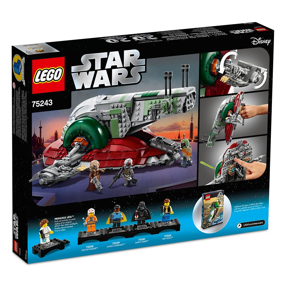 Slave I 20th Anniversary Edition Play Set By Lego Star Wars
