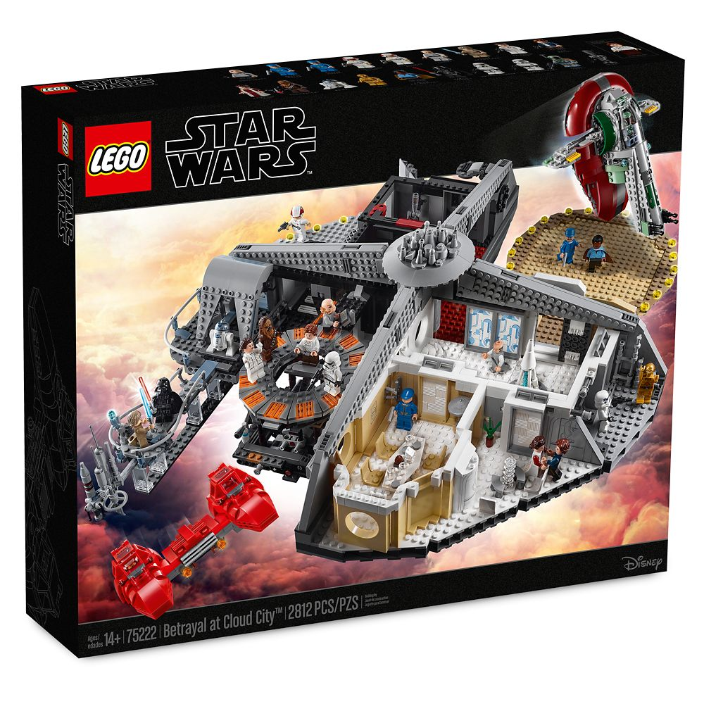 Betrayal at Cloud City Playset by LEGO – Star Wars: The Empire Strikes Back