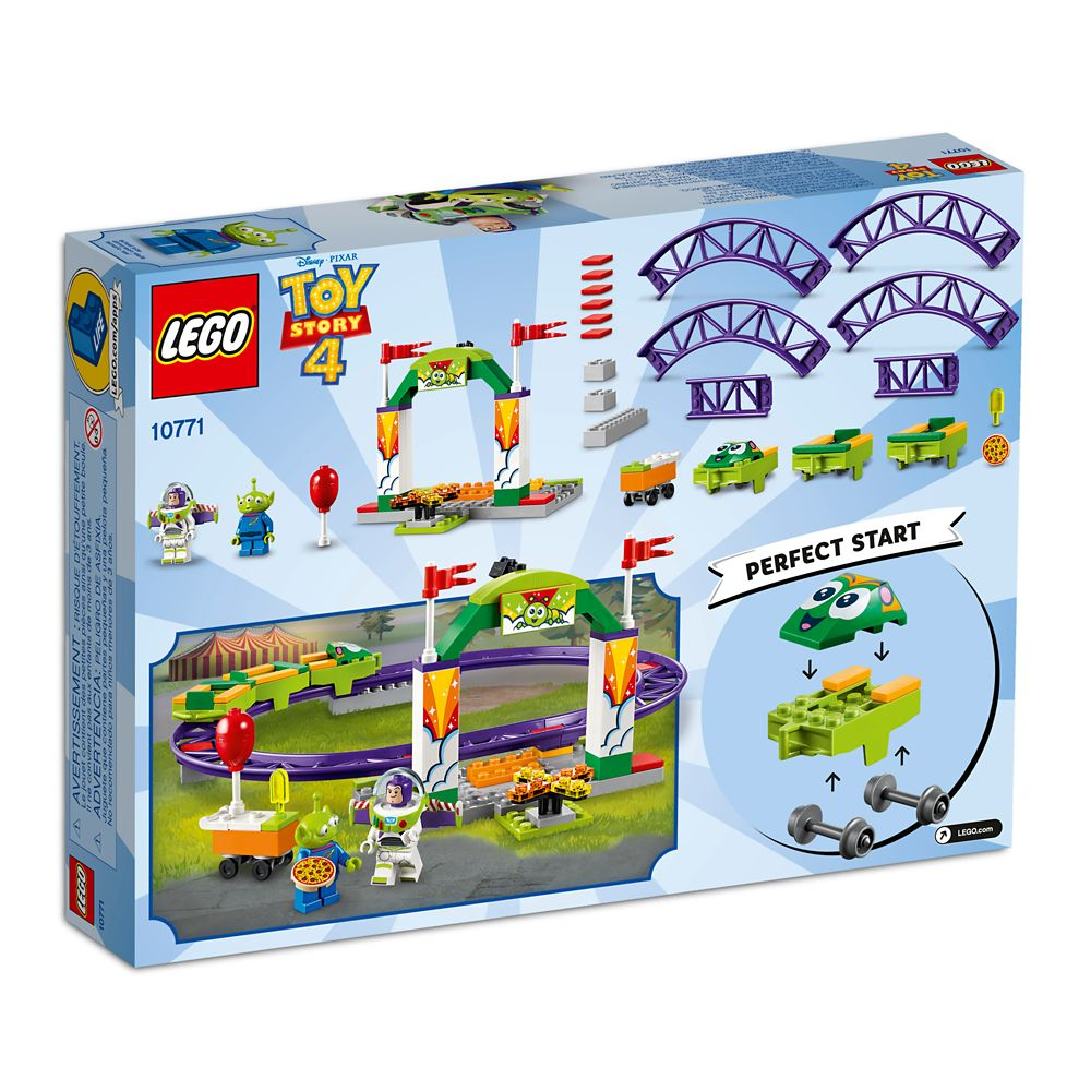 Toy Story 4 Carnival Thrill Coaster Play Set by LEGO