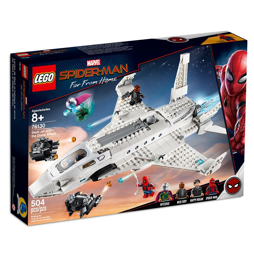 Spider-Man: Far from Home Stark Jet and the Drone Attack Play Set by LEGO