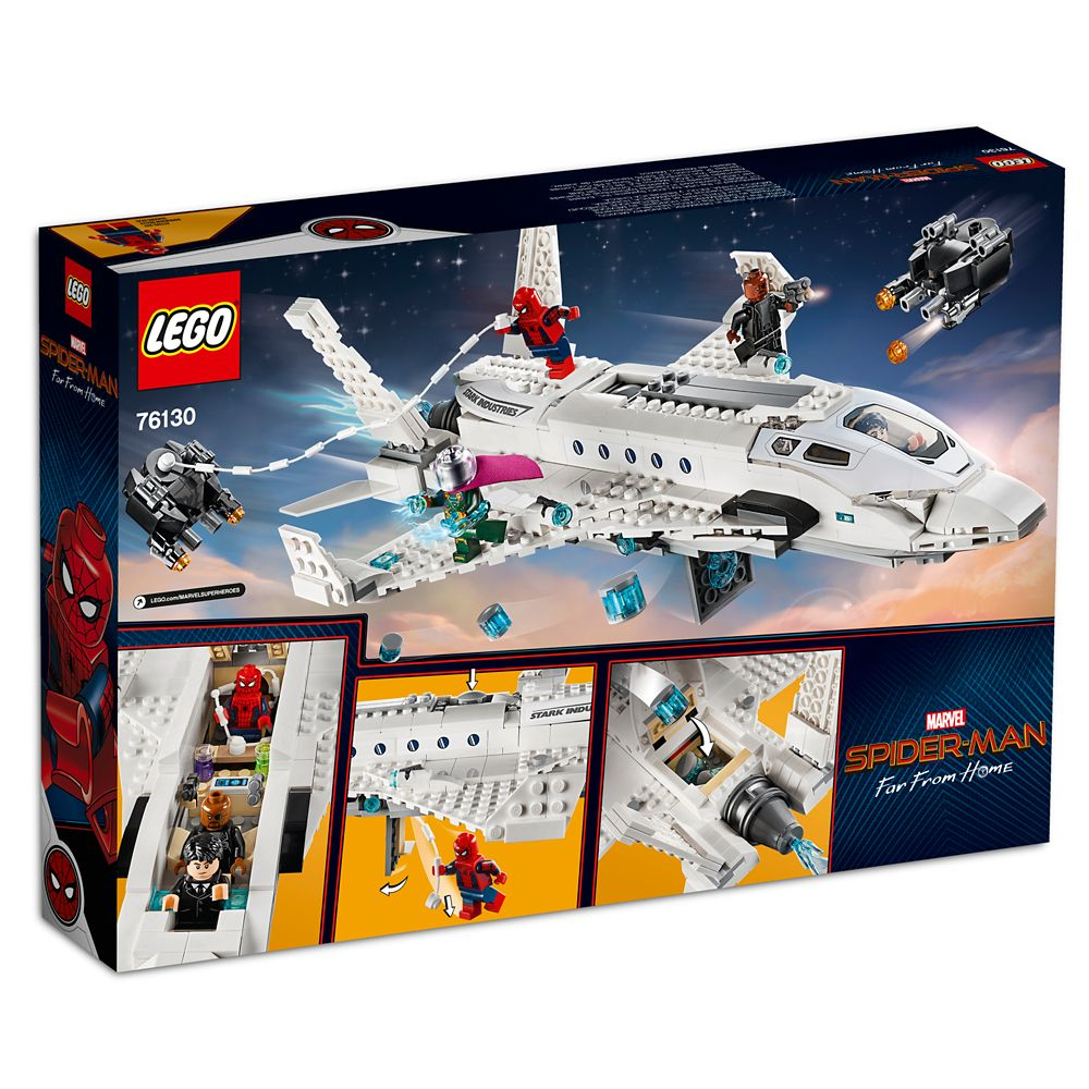 20b110fe Spider-Man: Far from Home Stark Jet and the Drone Attack Play Set by LEGO