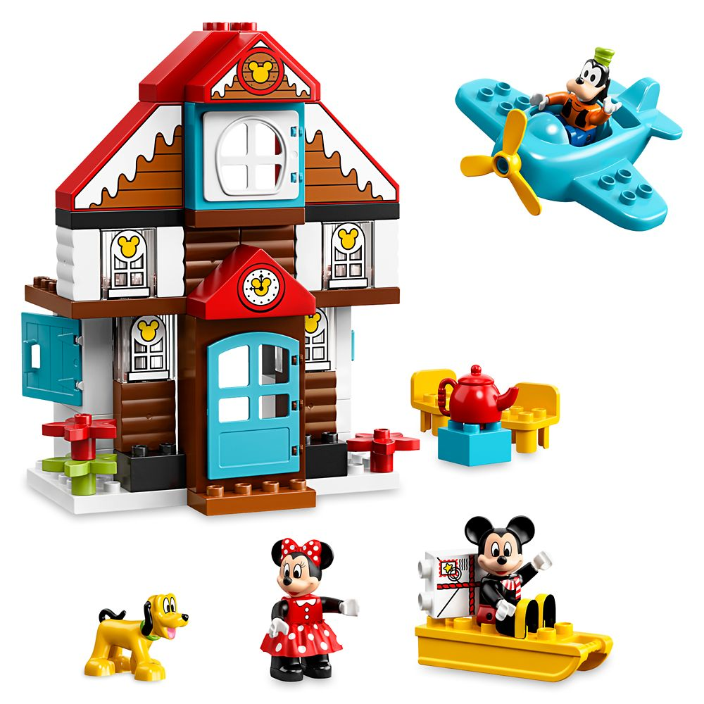 Mickey Mouse's Vacation House Duplo Play Set by LEGO Official shopDisney