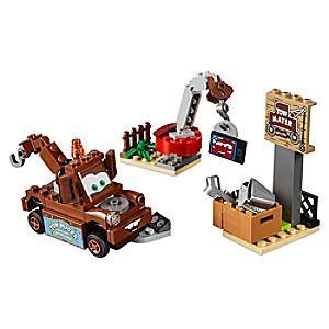 Disney Store Mater's Junkyard Playset By Lego Juniors  -  Cars 3