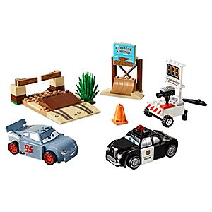 Disney Store Willy's Butte Speed Training Playset By Lego Juniors  -