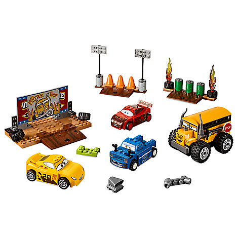 Thunder Hollow Crazy 8 Race Playset by LEGO Juniors - Cars 3