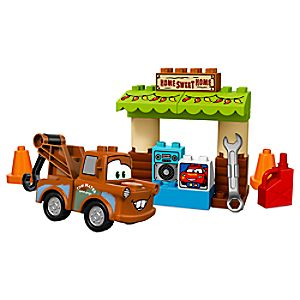 Disney Store Mater's Shed Lego Duplo Playset  -  Cars 3