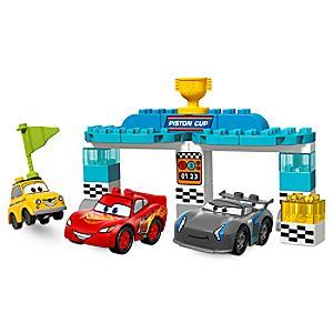 Disney Store Piston Cup Race Lego Duplo Playset  -  Cars 3