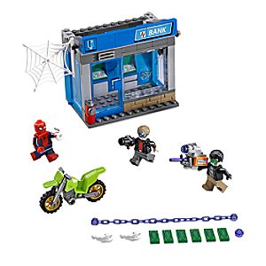 Disney Store Atm Heist Battle Playset By Lego  -  Spider - man: Homecoming