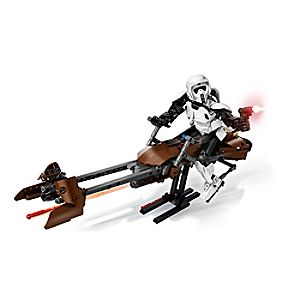 Scout Trooper and Speeder Bike Playset by LEGO - Star Wars 3061047092296P