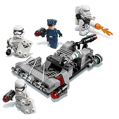 First Order Transport Speeder Battle Pack Playset by LEGO - Star Wars