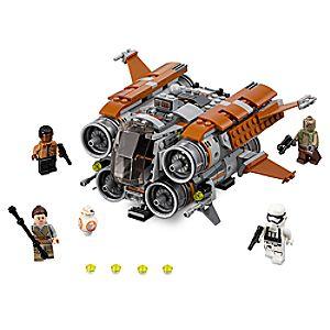Disney Store Jakku Quadjumper Playset By Lego  -  Star Wars