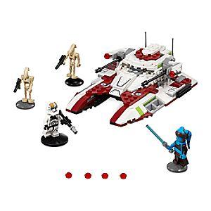 Disney Store Republic Fighter Tank Playset By Lego  -  Star Wars