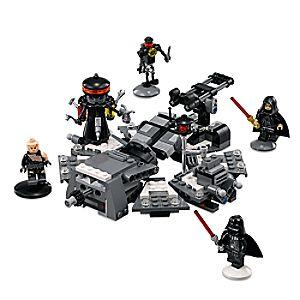 Disney Store Darth Vader Transformation Playset By Lego  -  Star Wars