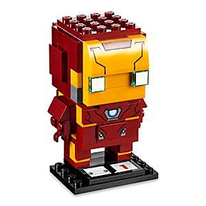 Disney Store Iron Man Brickheadz Figure By Lego