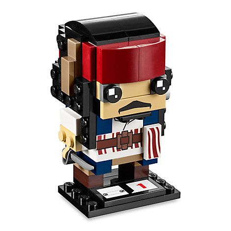 Captain Jack Sparrow BrickHeadz Figure by LEGO - Pirates of the Caribbean: Dead Men Tell No Tales