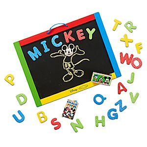 Mickey Mouse Magnetic Chalkboard by Melissa & Doug 3061055810944P