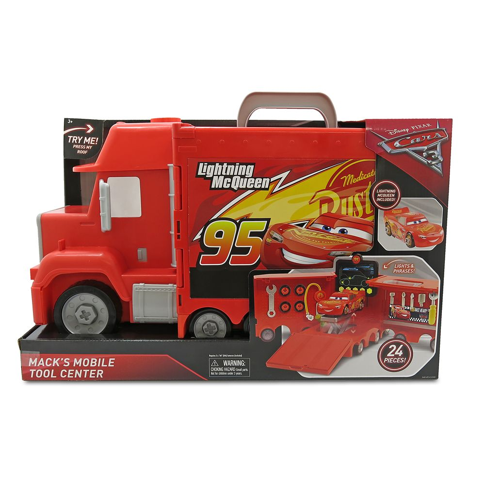 Mack's Mobile Tool Center – Cars 3