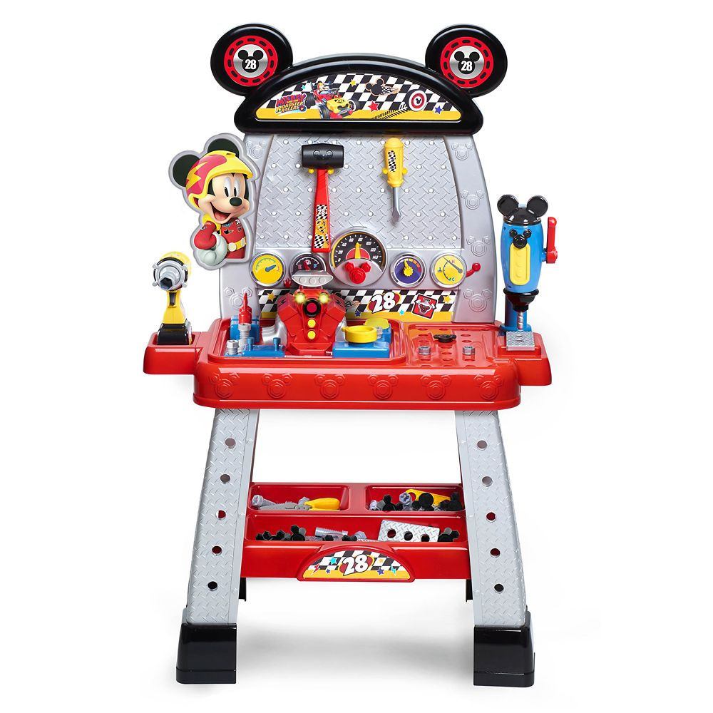 Mickey and the Roadster Racers Pit Crew Workbench Official shopDisney