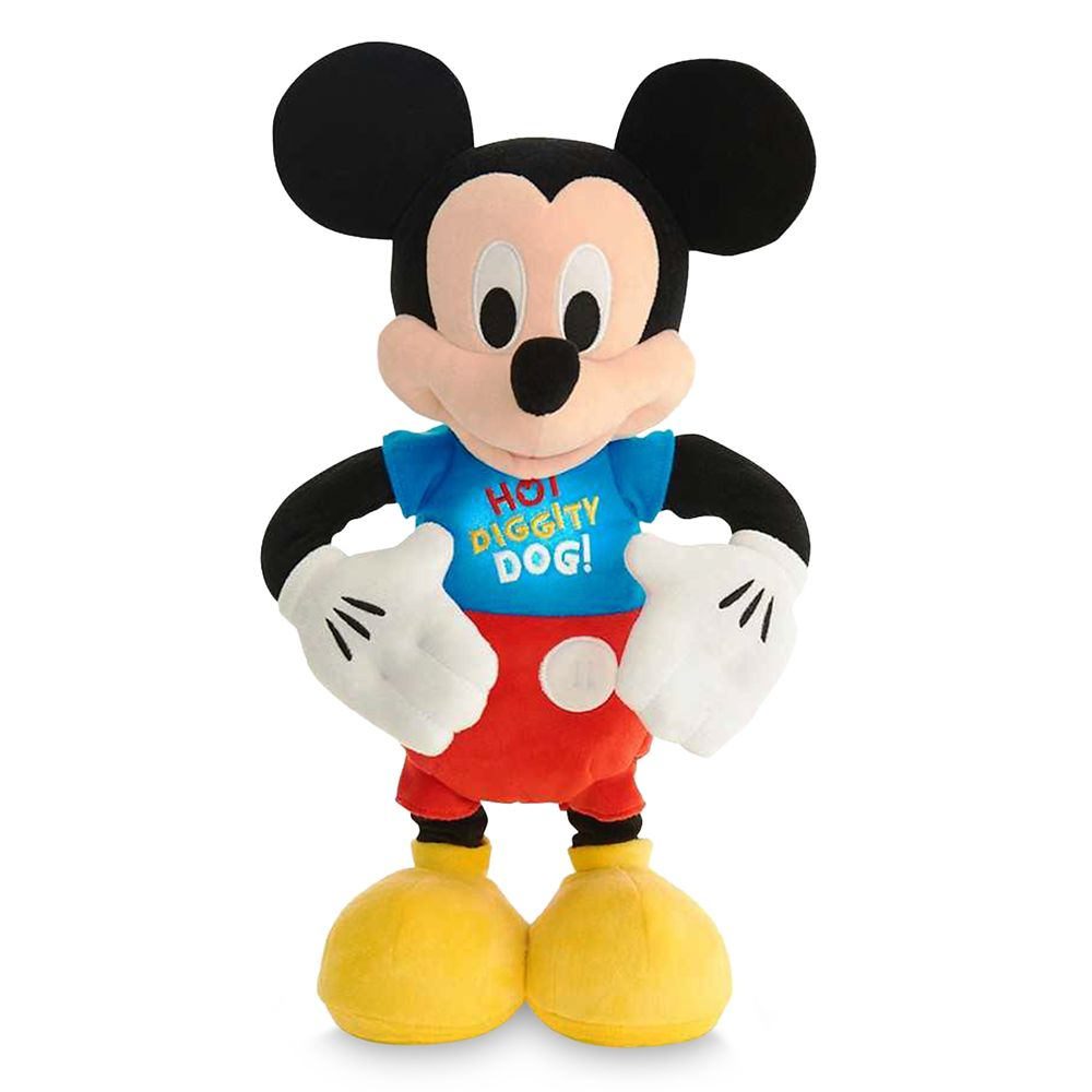 Mickey Mouse Hot Diggity Dance & Play Plush Official shopDisney