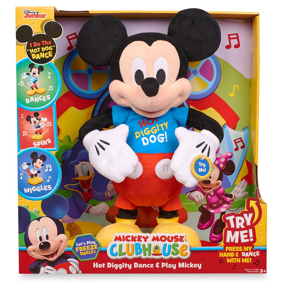Mickey Mouse Hot Diggity Dance & Play Plush