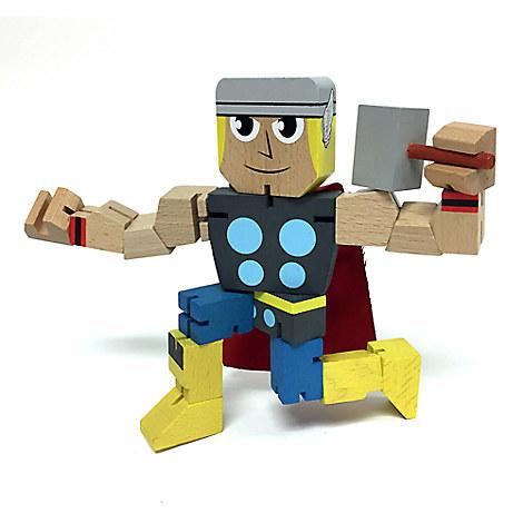 Thor Wood Warriors Figure