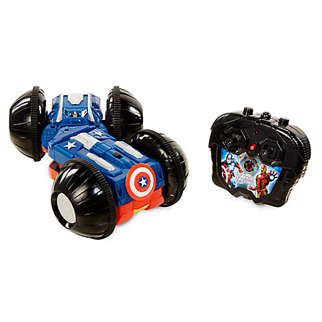 Captain America and Iron Man Rollover Rumbler Remote Control Vehicle