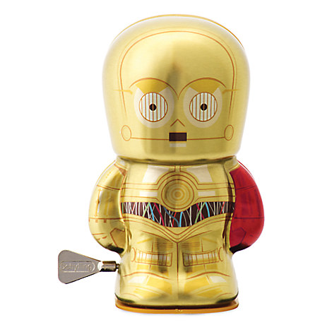 C-3PO Wind-Up Toy - 4'' - Star Wars
