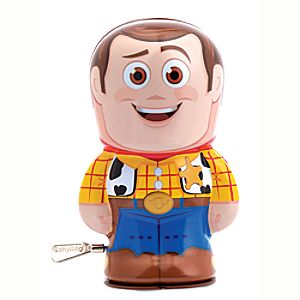 "Woody Wind-Up Toy – 4"" – Toy Story"