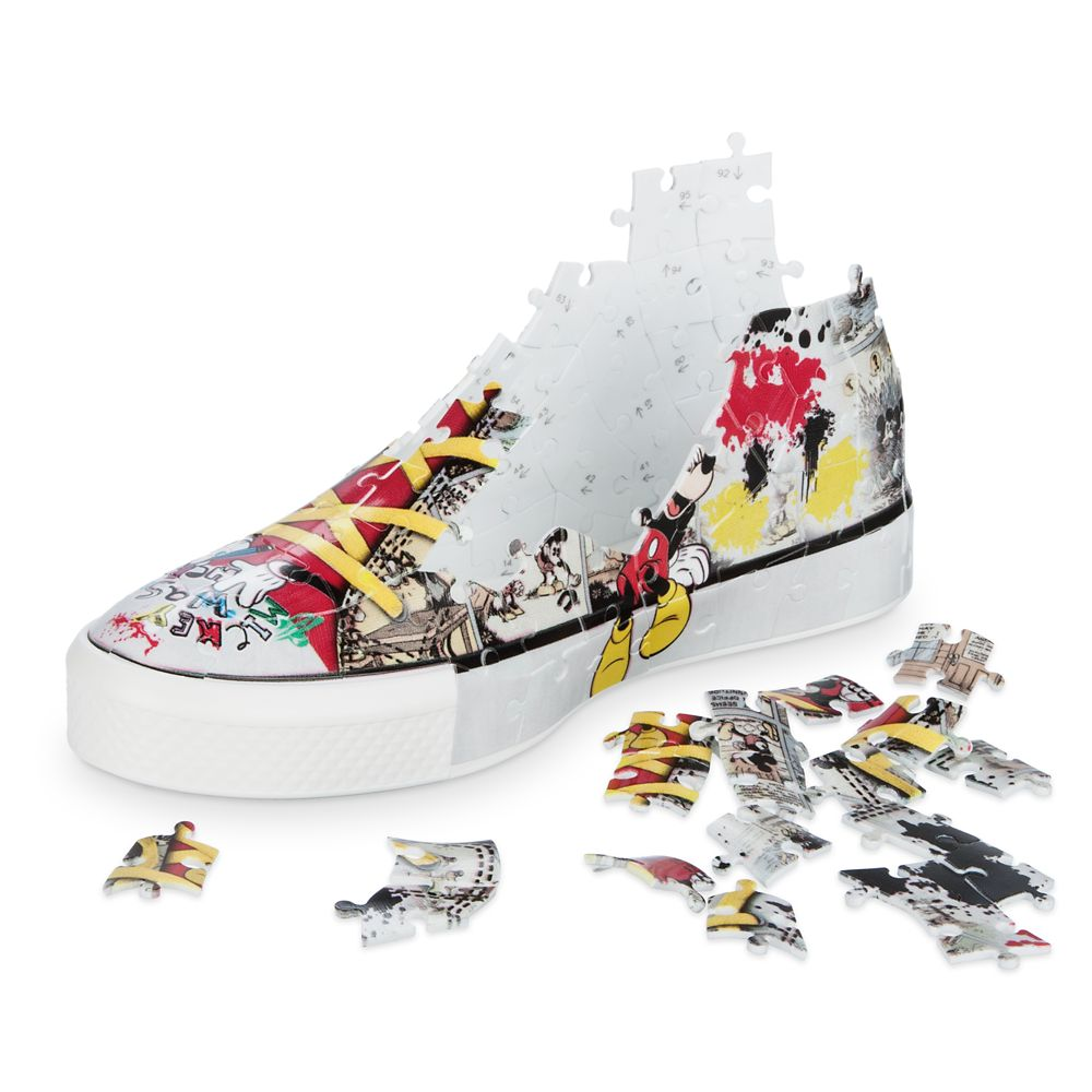Mickey Mouse 3-D Sneaker Puzzle by Ravensburger
