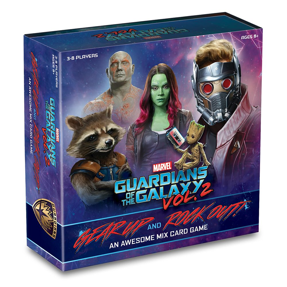 Guardians of the Galaxy Vol. 2 – Gear Up and Rock Out! An Awesome Mix Card Game