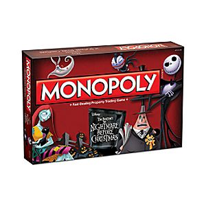 Tim Burton's The Nightmare Before Christmas Monopoly Game 3061057980267P