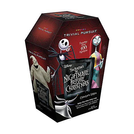 Tim Burton's The Nightmare Before Christmas Trivial Pursuit Game