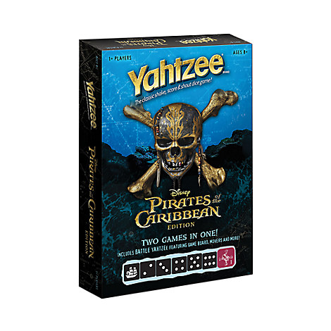 Pirates of the Caribbean Yahtzee Game