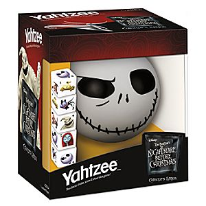 Tim Burton's The Nightmare Before Christmas Yahtzee Game 3061057980272P