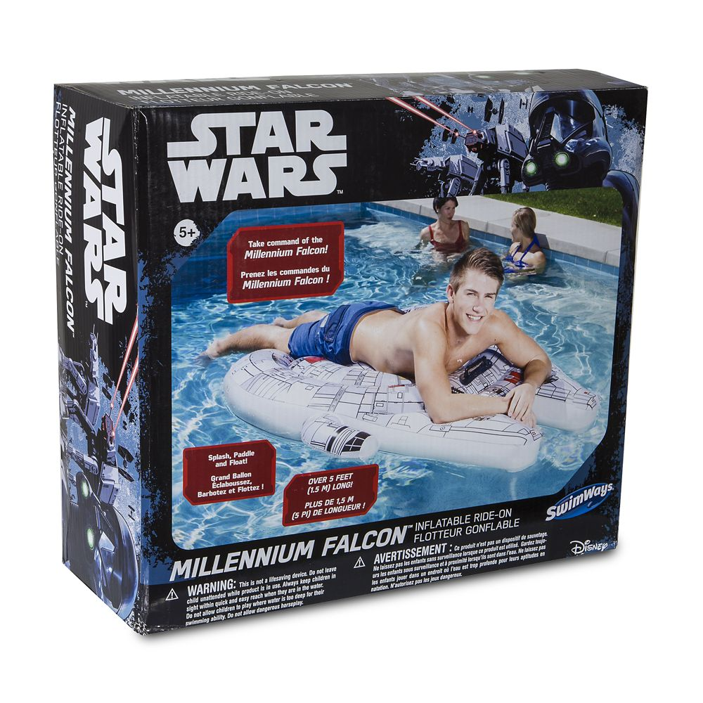 Millennium Falcon Inflatable Ride-On – Star Wars
