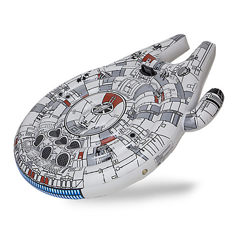 Millennium Falcon Inflatable Ride-On - Star Wars