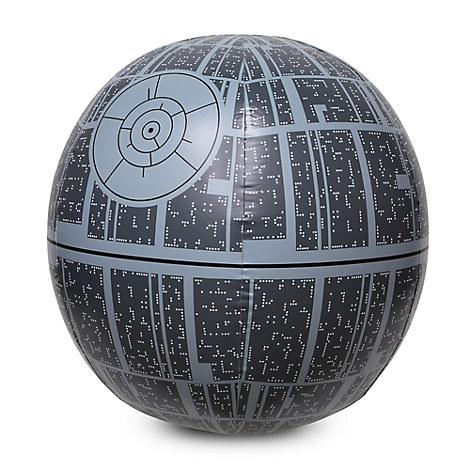 Death Star Light-Up Beach Ball - Star Wars