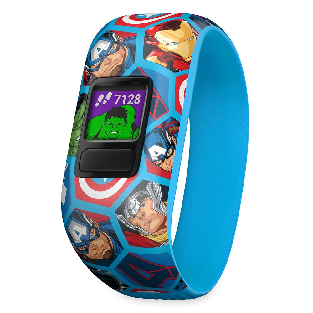 Avengers Garmin vívofit jr. 2 Activity Tracker for Kids with Stretchy Band