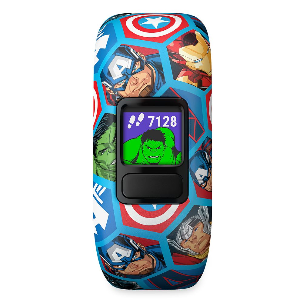 Avengers Garmin vívofit jr. 2 Activity Tracker for Kids with Stretchy Band