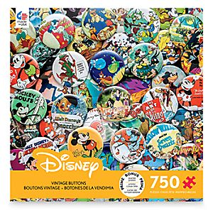 Disney Vintage Buttons Jigsaw Puzzle by Ceaco