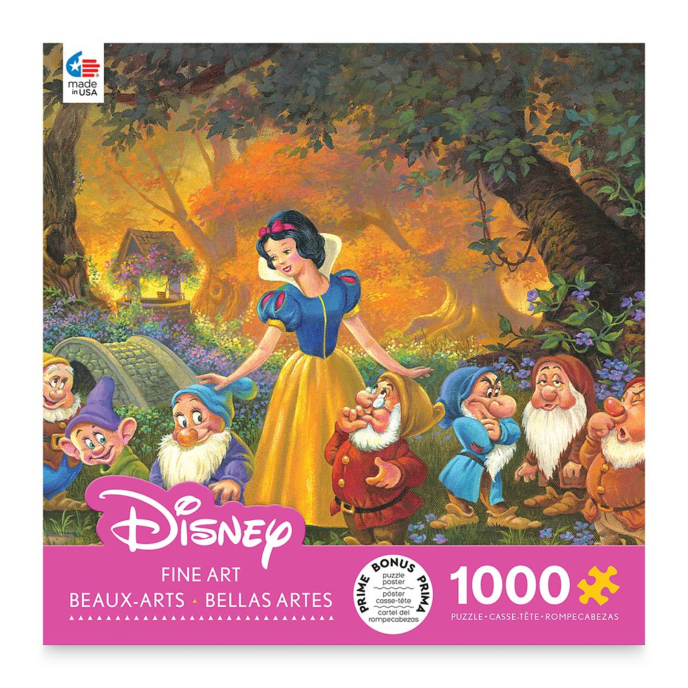 Snow White ''Among Friends'' by Michael Humphries Jigsaw Puzzle
