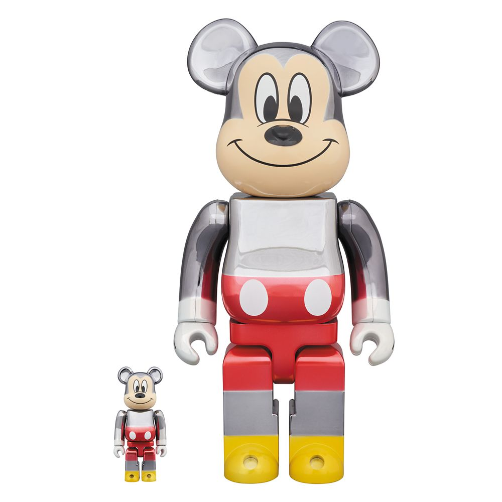 D23 Member – Mickey Mouse 90th Anniversary Be@rbrick Figurine Set