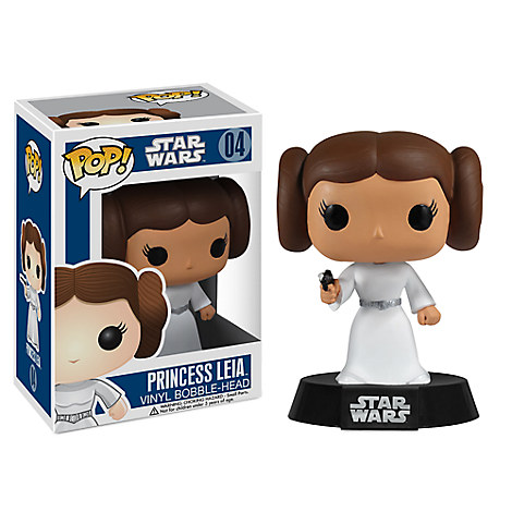Princess Leia Pop! Vinyl Bobble-Head Figure by Funko - Star Wars