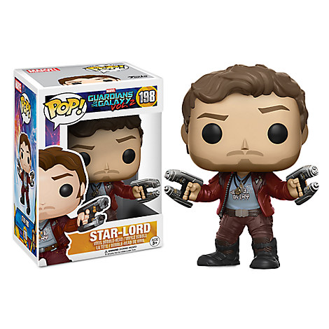 Star-Lord Pop! Vinyl Bobble-Head Figure by Funko / Chase - Guardians of the Galaxy Vol. 2