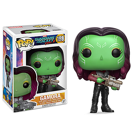 Gamora Pop! Vinyl Bobble-Head Figure by Funko - Guardians of the Galaxy Vol. 2