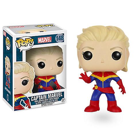 Captain Marvel Pop! Vinyl Bobble-Head Figure by Funko