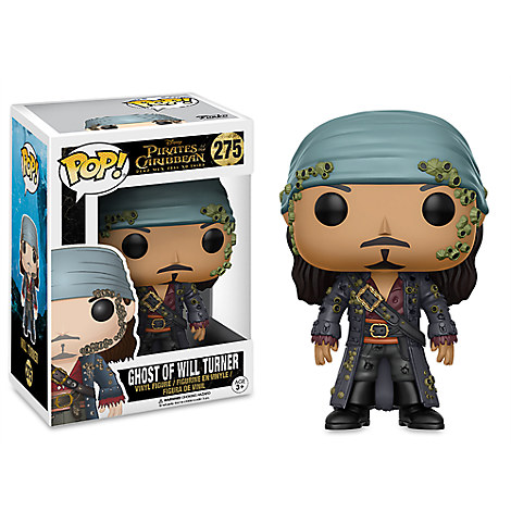 Ghost of Will Turner Pop! Vinyl Figure by Funko