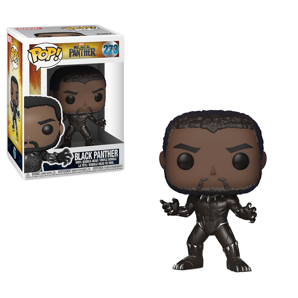 Black Panther Pop! Vinyl Bobble-Head Figure by Funko / Chase