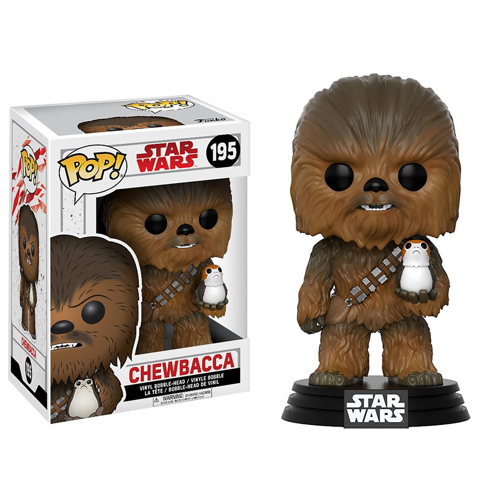 Chewbacca Pop! Vinyl Bobble-Head Figure by Funko – Star Wars: The Last Jedi